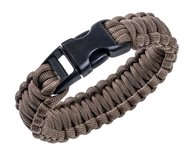 Bransoletka Paracord BCB 9 cali Coyote Brown (CM073C)