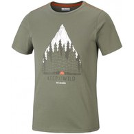 Koszulka T-shirt Columbia Wild Camp Green (EM0036 302)