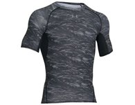 Koszulka termoaktywna Under Armour Printed Compression Black K/R (1257477-005)
